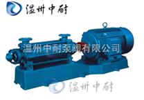 D、DG型卧式多级离心泵