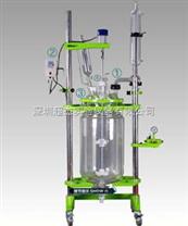 南京100L單層玻璃反應釜\蘇州多功能玻璃反應釜價格-超杰科技公司