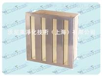 V型塑料框过滤器,上海W型高效过滤网