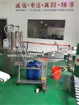 上海越甲半自動立式液體灌裝機FM-SLV,SLVQ