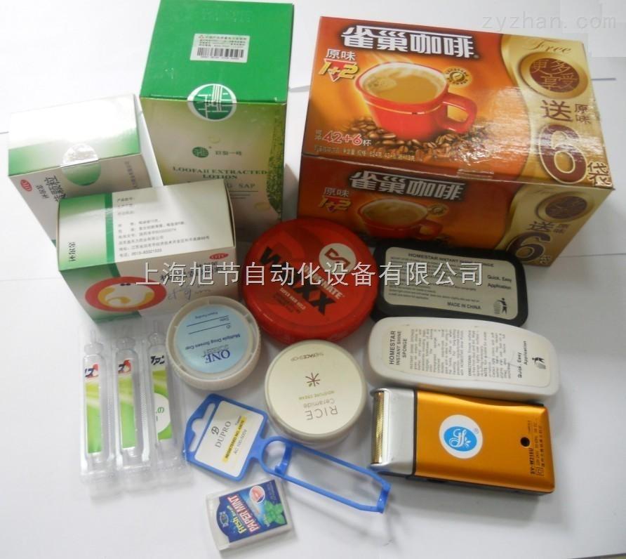 四川药厂专用封口贴标机器 不干胶九十度转角封口贴标机器