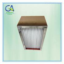 耐高温300度有隔板高效空气过滤器 HEPA滤网