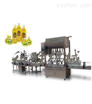 全自動食用油灌裝生產線|全自動食用油灌裝機