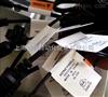 DC插头线对折贴标机 连接插座线对折贴标机器